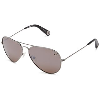 True Religion Jeff-55 Aviator Gun and Rose Sunglasses