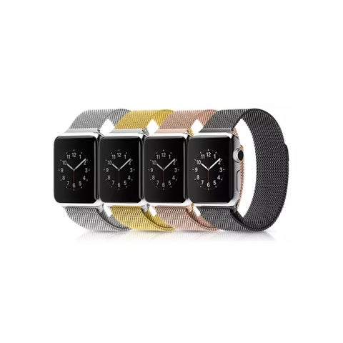 iPM Milanese Stainless Steel Mesh with Magnet Closure Replacement Bracelet for Apple Watch