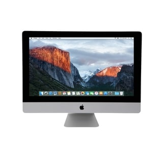 Apple iMac 21.5-Inch Ultrathin Core i5 All-in-one Desktop Computer w/ Apple Keyboard and Mouse