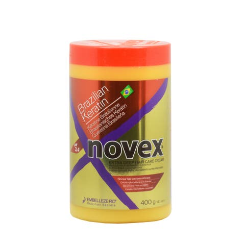 Novex Brazilian Keratin 14-ounce Cream Treatment