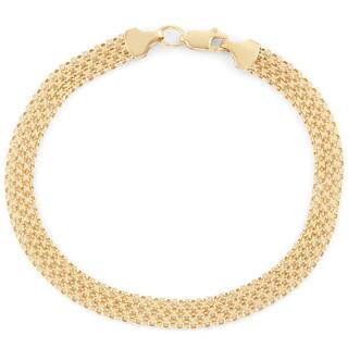 Gioelli 14k Gold Bismark Bracelet https://ak1.ostkcdn.com/images/products/11614018/P18550560.jpg?impolicy=medium