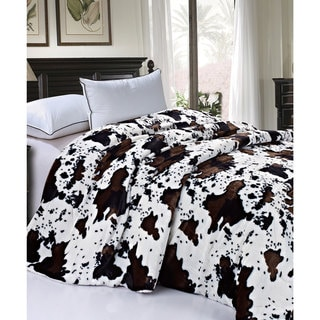 Link to Serenta Faux Fur Sherpa Backing Bed Blanket Similar Items in Blankets & Throws
