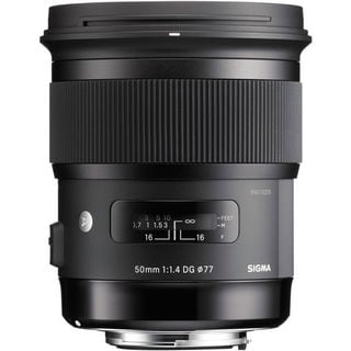 Sigma 50mm f/1.4 DG HSM Art Lens for Nikon F Bundle