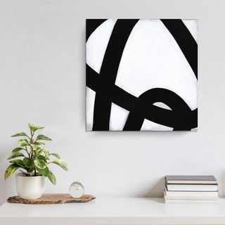 Ready2HangArt Norman Wyatt Jr. 'Curves IV' Canvas Art