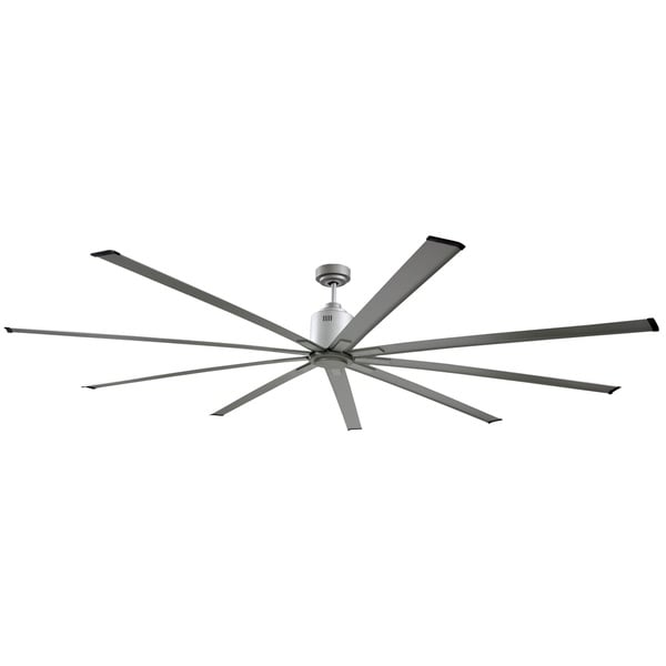 Big Air 96 inch Industrial Ceiling Fan - Silver
