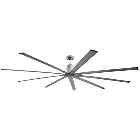Big Air 96 inch Industrial Ceiling Fan - Silver