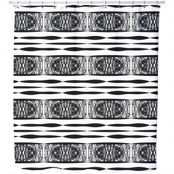 Zebra Stripes in Africa Shower Curtain