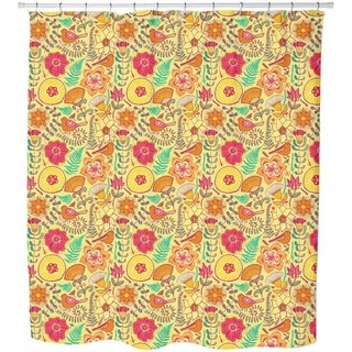 Wonderful Summer Pleasures Shower Curtain