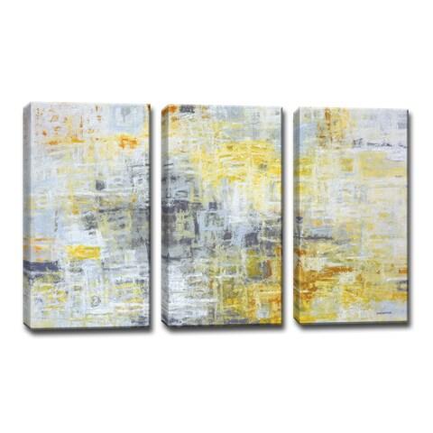 Ready2HangArt Norman Wyatt Jr. 'Joy Within' 3-piece Wrapped Canvas Art Set