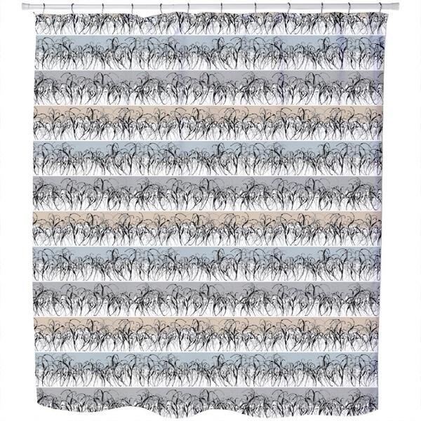 Whispering Winter Fields Shower Curtain