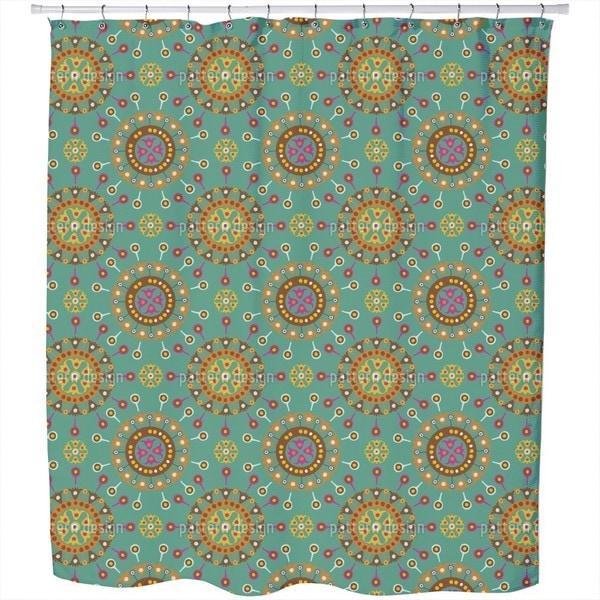 Wayuu Ethno Ocean Shower Curtain