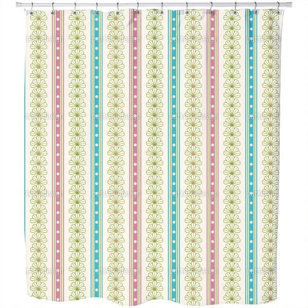 What Flowers Promise Shower Curtain