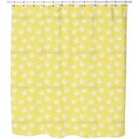 Violetta Yellow Shower Curtain