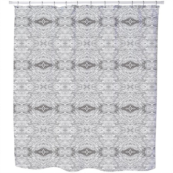 Wave Weave Shower Curtain
