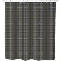 Wave Nero Shower Curtain