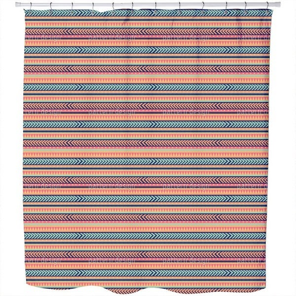 Tribal Mix Shower Curtain