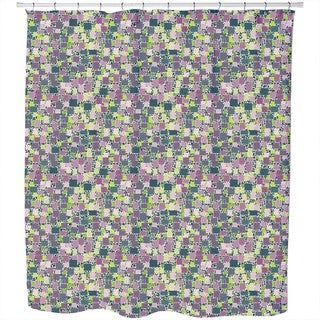 Uprising Squares Shower Curtain