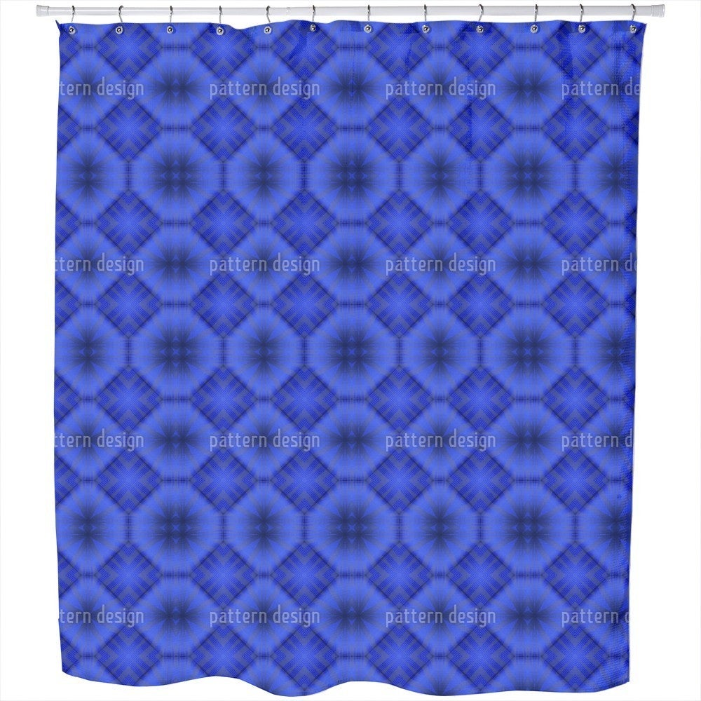 Uneekee Ultramarine Shower Curtain (Extra Long (70 inches...