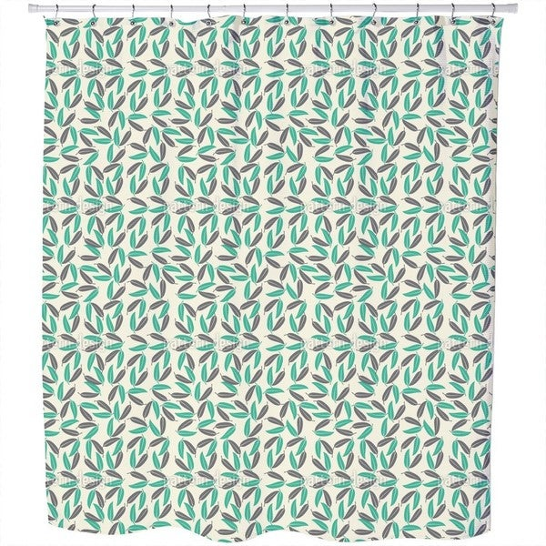 Tropical Leaves Shower Curtain - 18550841 - Overstock.com Shopping ...