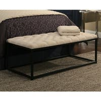 Republic Design House Extra Wide Tufted Flat Bench