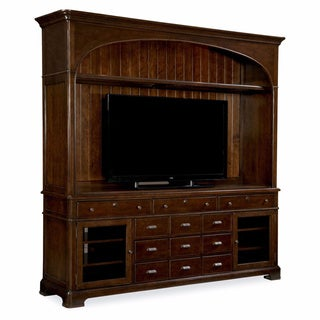 Paula Deen Home Entertainment Console with Hutch