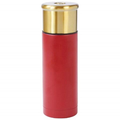 Classic Safari Shotgun Shell Style 33.8-ounce (1L) Stainless Steel Vacuum Bottle