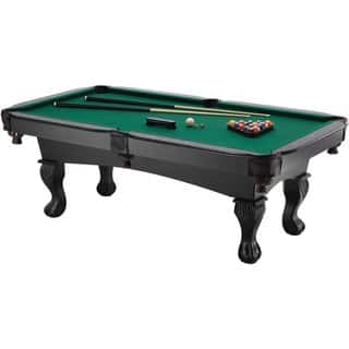 Fat Cat Kansas 7-foot Billiards Table with Ball and Claw Legs / Model 64-0147|https://ak1.ostkcdn.com/images/products/11614485/P18550933.jpg?impolicy=medium