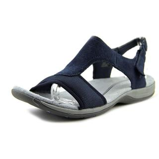 Easy Spirit Women's 'SeaCoast' Regular Blue Suede Sandals