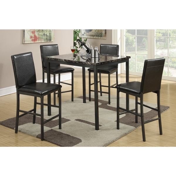 brekstad square counter height dining set 5 piece free shipping
