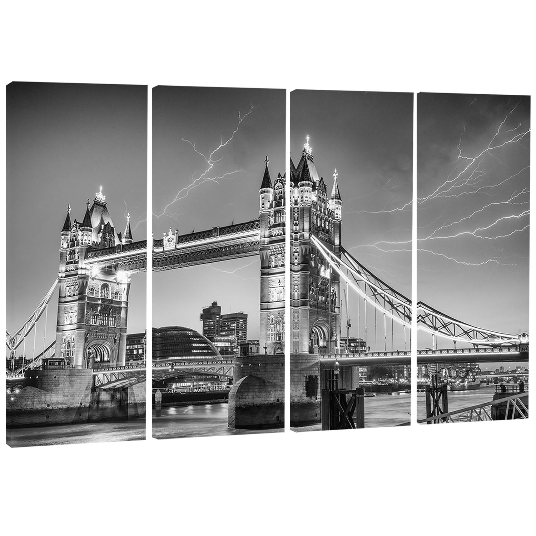 Designart Majesty Of Tower Bridge London Cityscape Photo Canvas Print Red Overstock 11614601