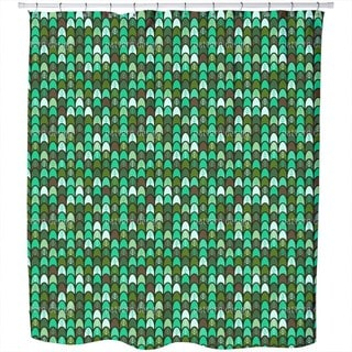 Coral Reef Cotton Shower Curtain - Free Shipping Today - Overstock ...