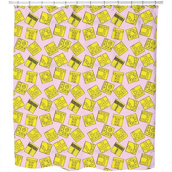 Traffic Puzzle Shower Curtain