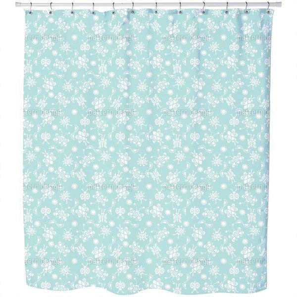 Tingle Tangle Shower Curtain