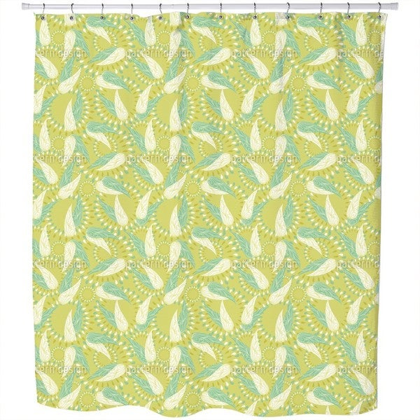 The Wings of Spring Shower Curtain