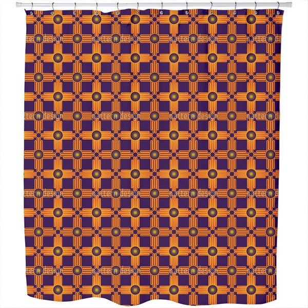 The Sun of Mexico Shower Curtain