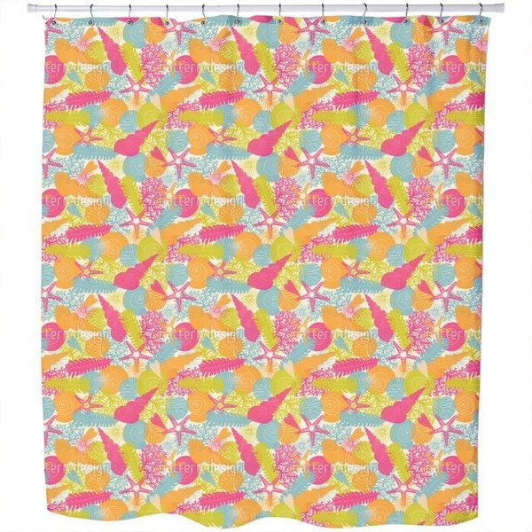 The Summer in The Sea Shower Curtain
