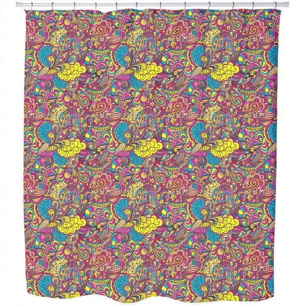 The Land of Wild Fantasies Shower Curtain