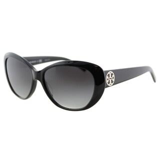 Tory Burch TY 7005 510/08 Brown Gradient Lens Tortoise Plastic Cat-Eye Sunglasses