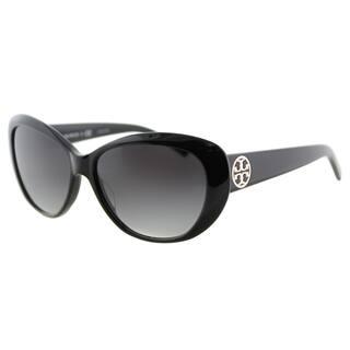 b4635ff86a1 Tory Burch TY 7005 510 08 Brown Gradient Lens Tortoise Plastic Cat-Eye  Sunglasses