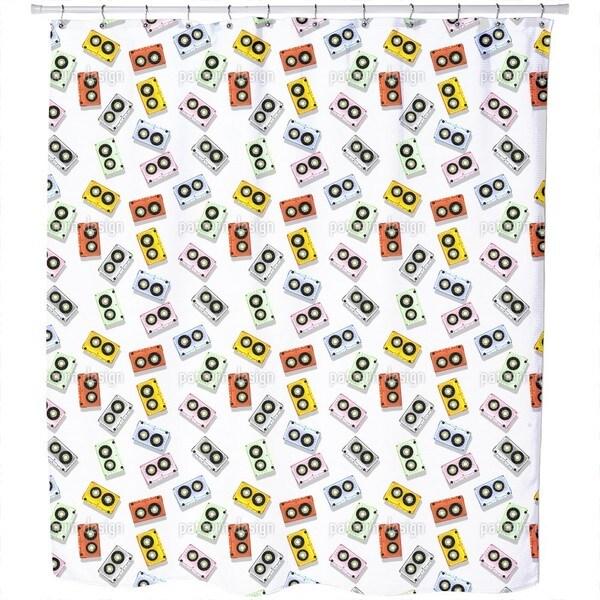 Tape Deck Shower Curtain