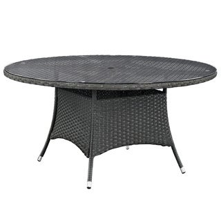 """Stopover 59"""" Round Outdoor Patio Dining Table"""
