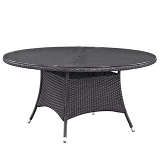 "Gather 59"" Round Outdoor Patio Dining Table"