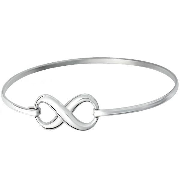 Shop Gig Jewels Sterling Silver Infinity Symbol 65 Inches Fashion