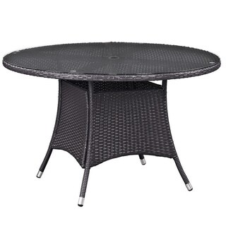 """Gather 47"""" Round Outdoor Patio Dining Table"""