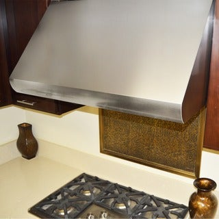 "KOBE CH0048SQB-5 Deluxe 48"" Under Cabinet Range Hood, 3-Speed, 1100 CFM, LED Lights, Baffle Filters"