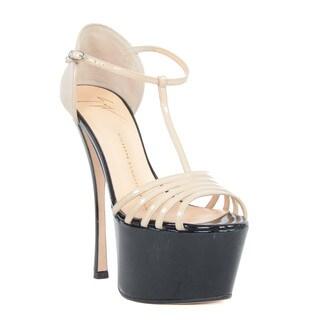 Giuseppe Zanotti Platform Heel T-strap Sandals