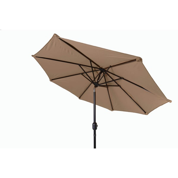 8 Foot Tilt Crank Patio Umbrella