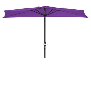9 Foot Patio Half Umbrella