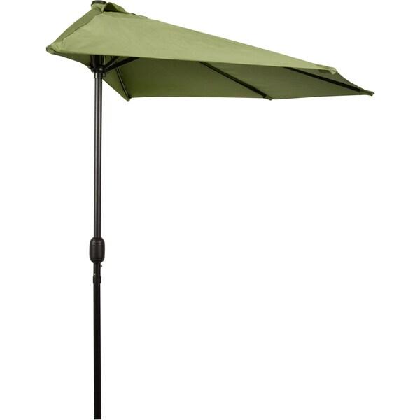 9 Foot Patio Half Umbrella Free Shipping Today
