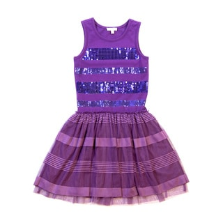 Girls' Knee Length Party Dress